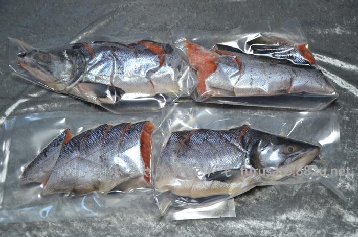 小分けが便利な冷凍新巻鮭